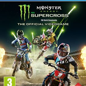 PS4: Monster Energy Supercross - The Official Videogame