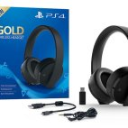 PS4: Gold Wireless Headset