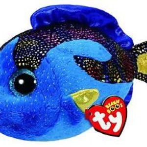 TY Beanie Boos AQUA - Blue fish clip