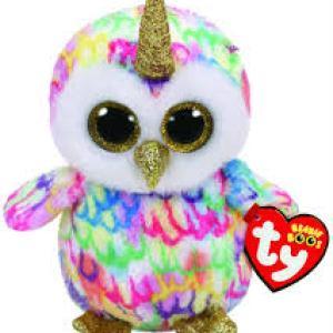 TY Beanie Boos ENCHANTED - owl with horn reg