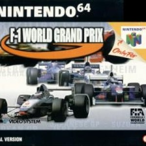 Retro: F-1 World Grand Prix N64 (CIB) (käytetty)