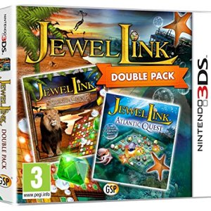3DS: Jewel Link Double Pack - Safari Quest and Atlantic Quest