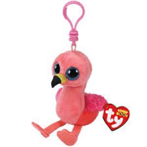 TY Beanie Boos GILDA - pink flamingo clip