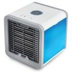 Arctic Air-1 Portable Energy Efficient Evaporation Cooling /Mini Air Conditioning USB Fan /Air-cooler Purifier with 3 Speed Modes, Built in LED Light