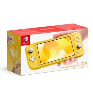 Switch: Nintendo Switch Lite - Keltainen