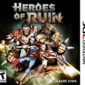 3DS: Heroes of Ruin (käytetty)