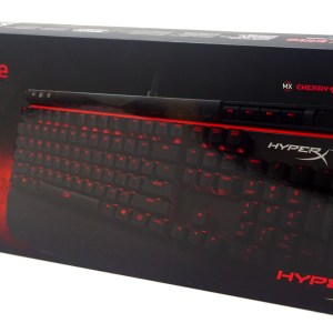 PC: KINGSTON HyperX Alloy Elite Mechanical Gaming Keyboard MX Red-NO