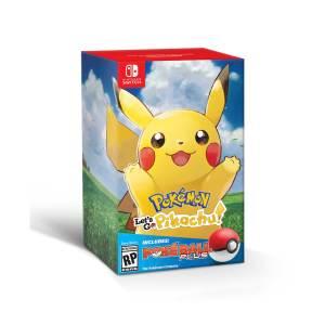 Switch: Pokemon: Lets Go, Pikachu! + Poké Ball Plus Bundle KERTAERÄ