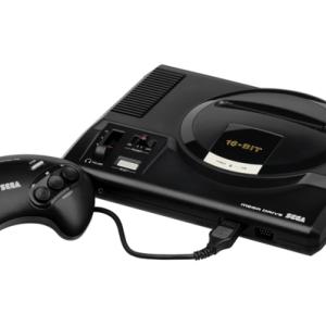 Retro: Sega Mega Drive pelikonsoli (käytetty)