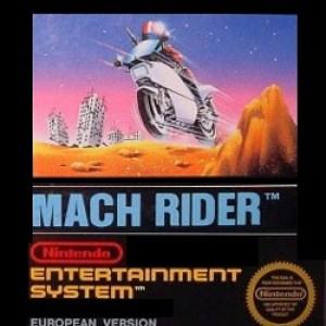 Retro: Mach Rider (NES) (käytetty)