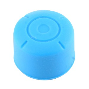 Switch: 2 PCS for Nintendo Switch Game Button Silicone Caps Protective Cover (Blue)