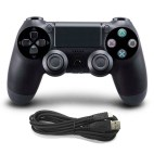 PS4: DoubleShock 4 langallinen ohjain (Black)