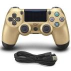PS4: DoubleShock 4 langallinen ohjain (Gold)