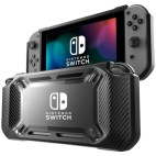 Switch: Non-slip Silicone Protective Case for Switch(Black)