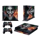 PS4: Clown Bucky Pattern Fashion Color Protective Film Sticker for Sony PS4