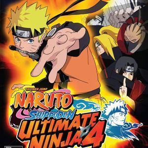 PS2: Naruto Shippuden Ultimate Ninja 4 (käytetty)