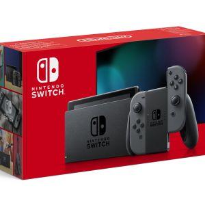 Switch: Nintendo Switch konsoli (+ Grey Joy-Con)