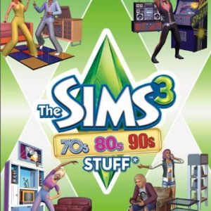 PC: The Sims 3: 70S  80S & 90S Stuff