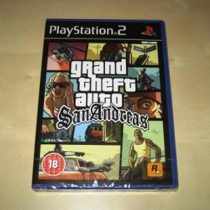 PS2: Grand Theft Auto: San Andreas (käytetty)