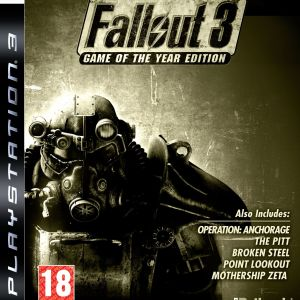 PS3: Fallout 3 (Game Of The Year Edition) (käytetty)