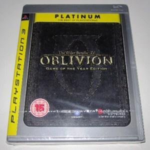 PS3: The Elder Scrolls IV: Oblivion GOTY (käytetty)