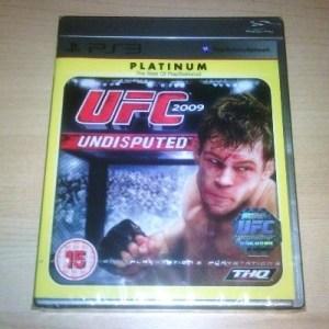 PS3: UFC 2009 Undisputed (käytetty)