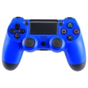 PS4: (Blue)Doubleshock 4 Wireless Game Controller for Sony PS4(Blue)