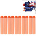 10 kpl NERF vara-ammuksia - Oranssi