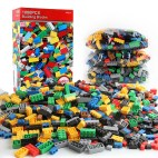 1000 in 1 Intelligent Toys DIY ABS Material Building Blocks