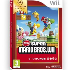 Wii: New Super Mario Bros.