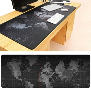 PC: 70 x 30cm hiirimatto (World map)