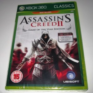 Xbox 360: Assassins Creed II: Game of The Year Edition (käytetty)