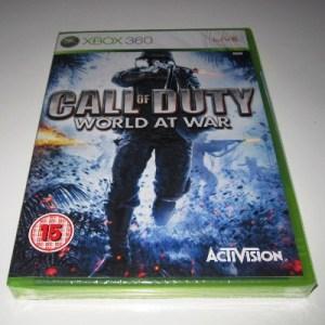 Xbox 360: Call of Duty: World at War (käytetty)