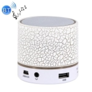 A9 Mini Portable Bluetooth Stereo Speaker (White)