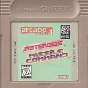 Retro: Arcade Classics 1 US Asteroids Nintendo Game Boy (käytetty)