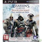 PS3: Assassins Creed: Birth of a New World, The American Saga (käytetty)