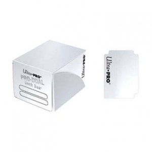 UP - Deck Box - Pro Dual Small - White