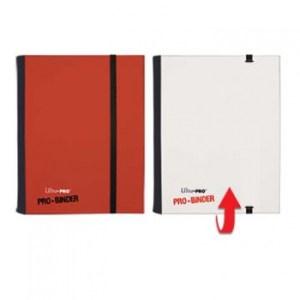 UP - Pro-Binder - 4-Pocket Portfolio - Red/White
