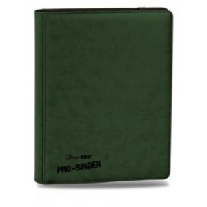 UP - Premium Pro-Binder - 9-Pocket Portfolio - Green