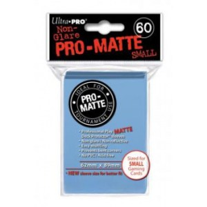 UP - Small Sleeves - Pro-Matte - Light Blue (60 Sleeves)