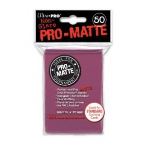 UP - Standard Sleeves - Pro-Matte - Non Glare - Blackberry (50 Sleeves)