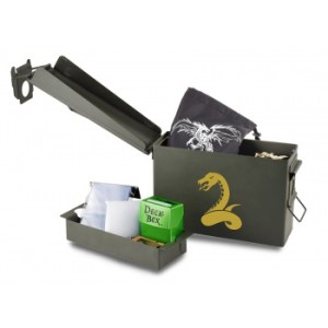 UP - W.A.R. Wargame Accessory Reserves Case - Jungle Serpent