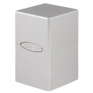 UP - Deck Box - Satin Tower - Metallic Silver