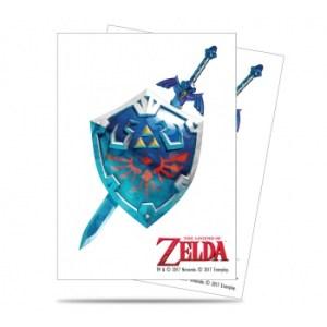 UP - Sleeves Standard - The Legend of Zelda: Sword & Shield (65 Sleeves)