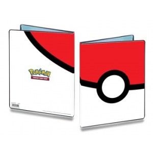 UP - 9-Pocket Portfolio - Pokemon - Pokeball