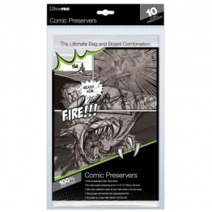 UP - Comic Preserver 7 X 10 (10 Bags)