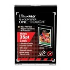 UP - 35PT Black Border UV One-Touch Magnetic Holder