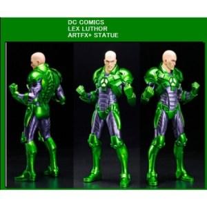 DC Comics New 52 ARTFX+ Serie LEX LUTHOR 1/10 Scale Statue 20cm
