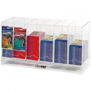 UP - Acrylic Booster Packs Dispenser (6-Slots & Stackable)