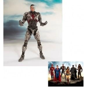 Justice League The Movie - CYBORG 1/10 Scale ARTFX+ Statue 19cm